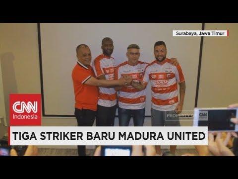 Striker Baru Madura United: N'Koyi, Sacramento & Cristian Gonzales