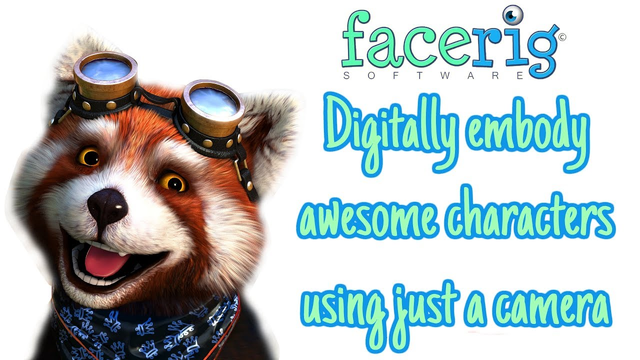 Download FaceRig, the mobile app that enables you to become an awesome digital character!