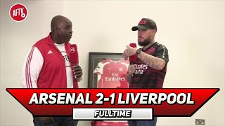 Arsenal 2-1 Liverpool | Put Some Respect on The Invincible's Name! (DT)