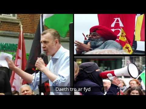 'Llais y Ddraig'   (Hear sound of dragon's roaring) Gydag iseditlau. With subtitles.  16 09 20.