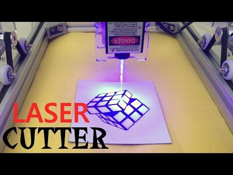 DIY LASER CUTTER/ENGRAVING MACHINE KIT