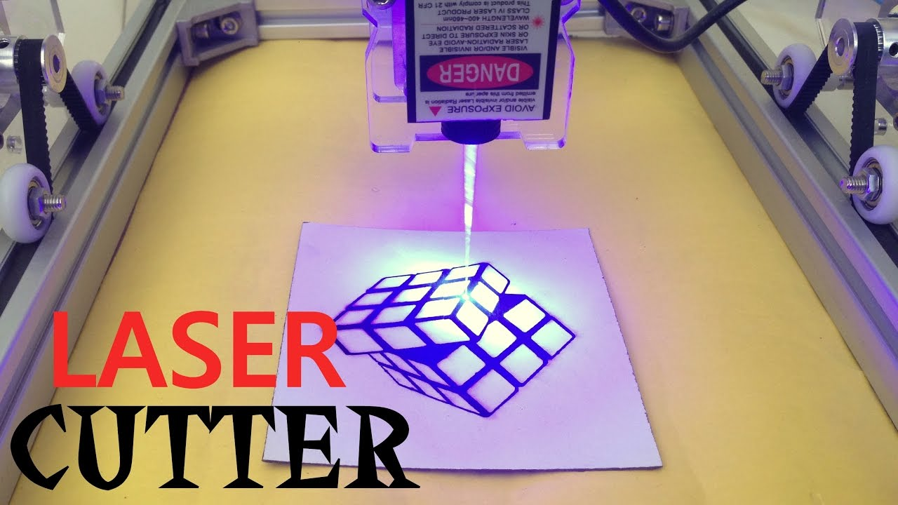 Diy Laser Cutter Engraving Machine Kit Youtube