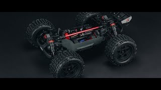Load Video 3:  Spotlight: AquaCraft Models P-27 Gunslinger Brushless 3S Crackerbox RTR