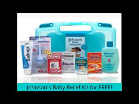 Free Johnson's Baby Relief Kit | Johnson's Baby Relief Kit ...