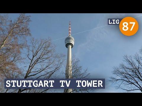 Life in Germany - Ep. 87: Stuttgart TV Tower!
