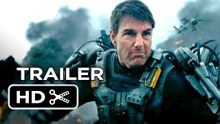 Edge Of Tomorrow Official Trailer #1 (2014) - Tom Cruise, Emily Blunt Movie HD thumbnail