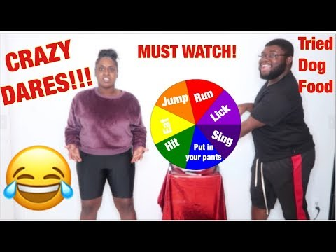SPIN the MYSTERY WHEEL challenge!!! (1 SPIN=1 DARE)