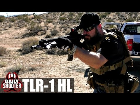 Streamlight TLR 1 HL on Rifle Review