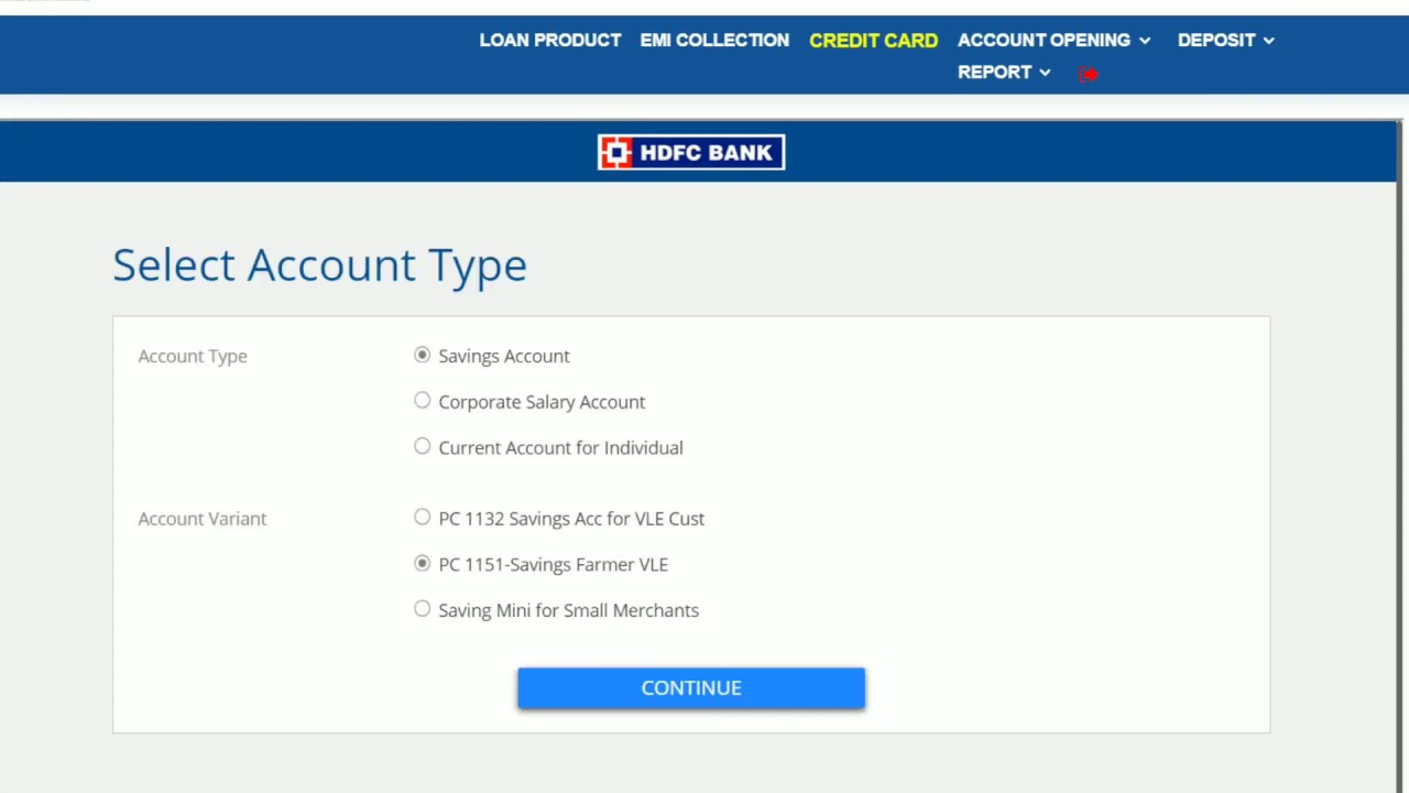 hdfc bank savings account closing procedure