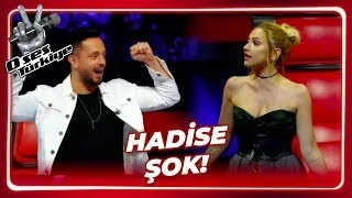 Throw a curve to Hadise | The Voice Turkey | Episode 2