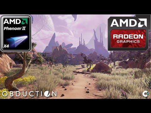 Obduction (HD 7850/R7 265/R7 370 | Phenom II X4) [High]
