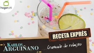Receta Exprés: Granizado de rebujito - Eva Arguiñano