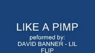 Like a Pimp - David Banner, Lil Flip