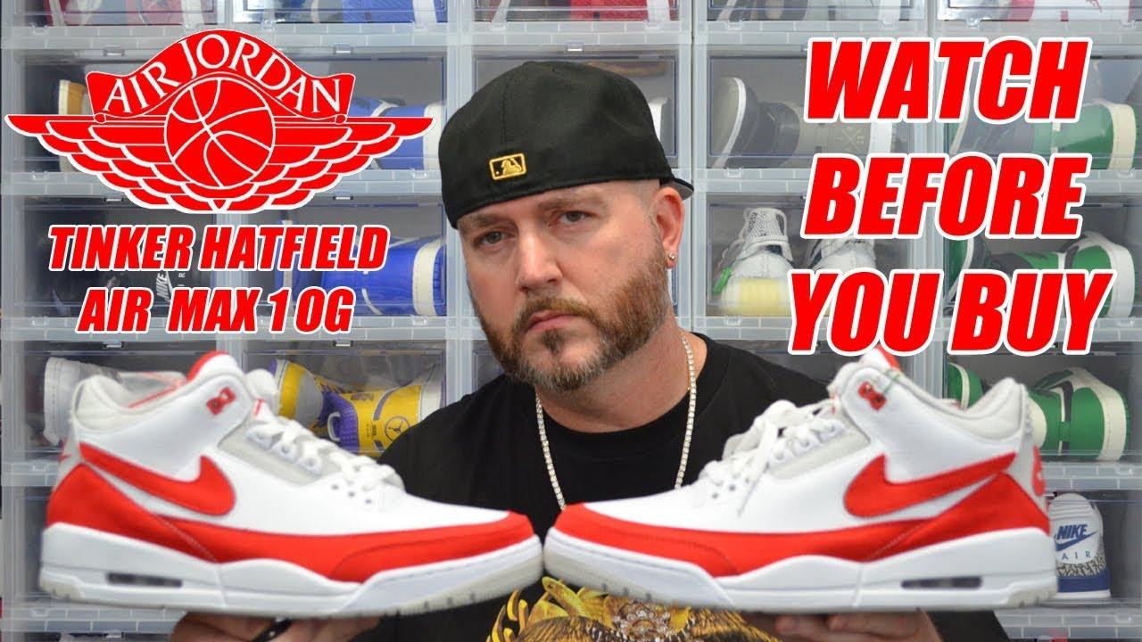 4585dba2581 WATCH BEFORE YOU BUY: JORDAN 3 TINKER HATFIELD WHITE UNIVERSITY RED ...