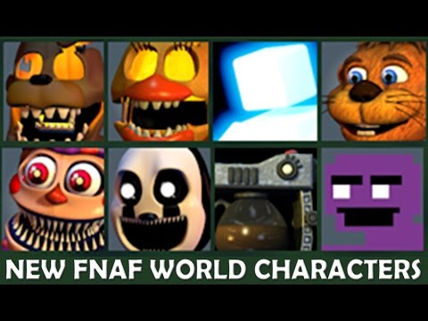 BONNIE AND FOXY REACT TO: FNAF World Update #2