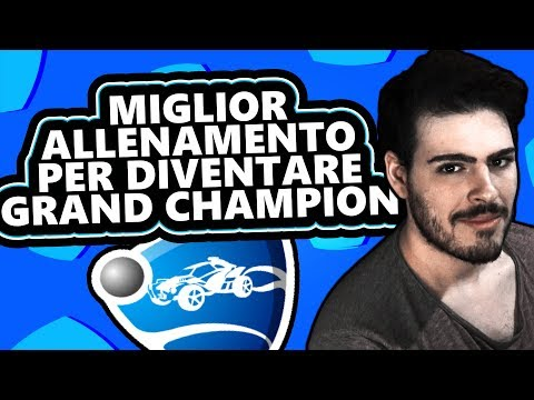 IL MIGLIOR ALLENAMENTO PER DIVENTARE GRAND CHAMPION SU ROCKET LEAGUE thumbnail
