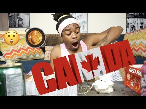 MONTREAL QUEBEC (CRAZY FOOD TASTING)