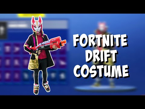 DRIFT COSTUME From Spirit Halloween Review + Custom DIY Add-ons FORTNITE IN REAL LIFE #FortniteIRL