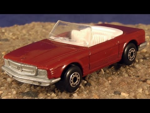 matchbox mercedes benz 350 sl cabriolet youtube. Black Bedroom Furniture Sets. Home Design Ideas