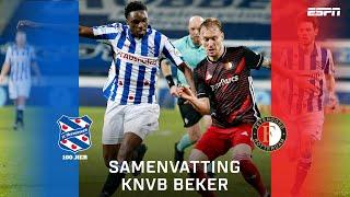 Knotsgekke kwartfinale tussen Heerenveen en Feyenoord! 🤯| TOTO KNVB Beker | Samenvatting