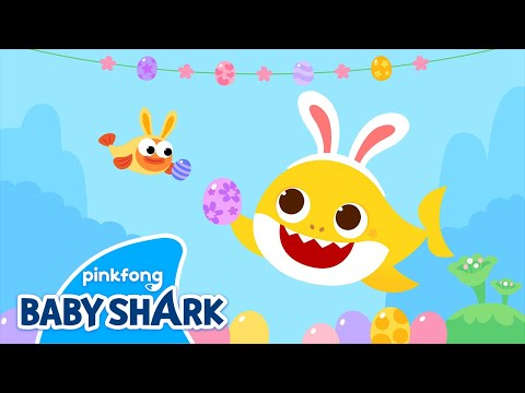 Baby Shark's Happy Easter | Baby Shark Easter | Baby Shark Easter Song |