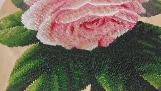Вышивка бисером. Нежные розы от Барвиста Вышиванка