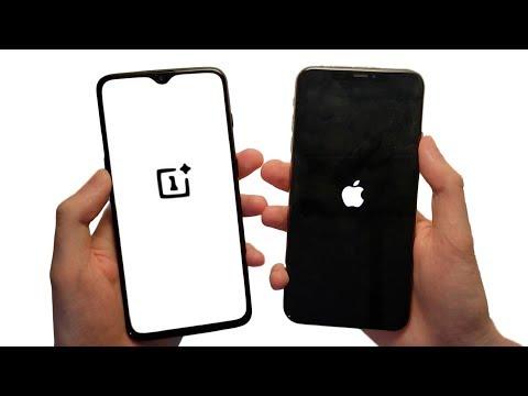 OnePlus 6T vs iPhone XS Max Speed Test, Cameras & Speakers!