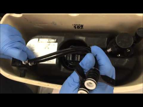 Handle Assembly Replacement Eco Flush Youtube