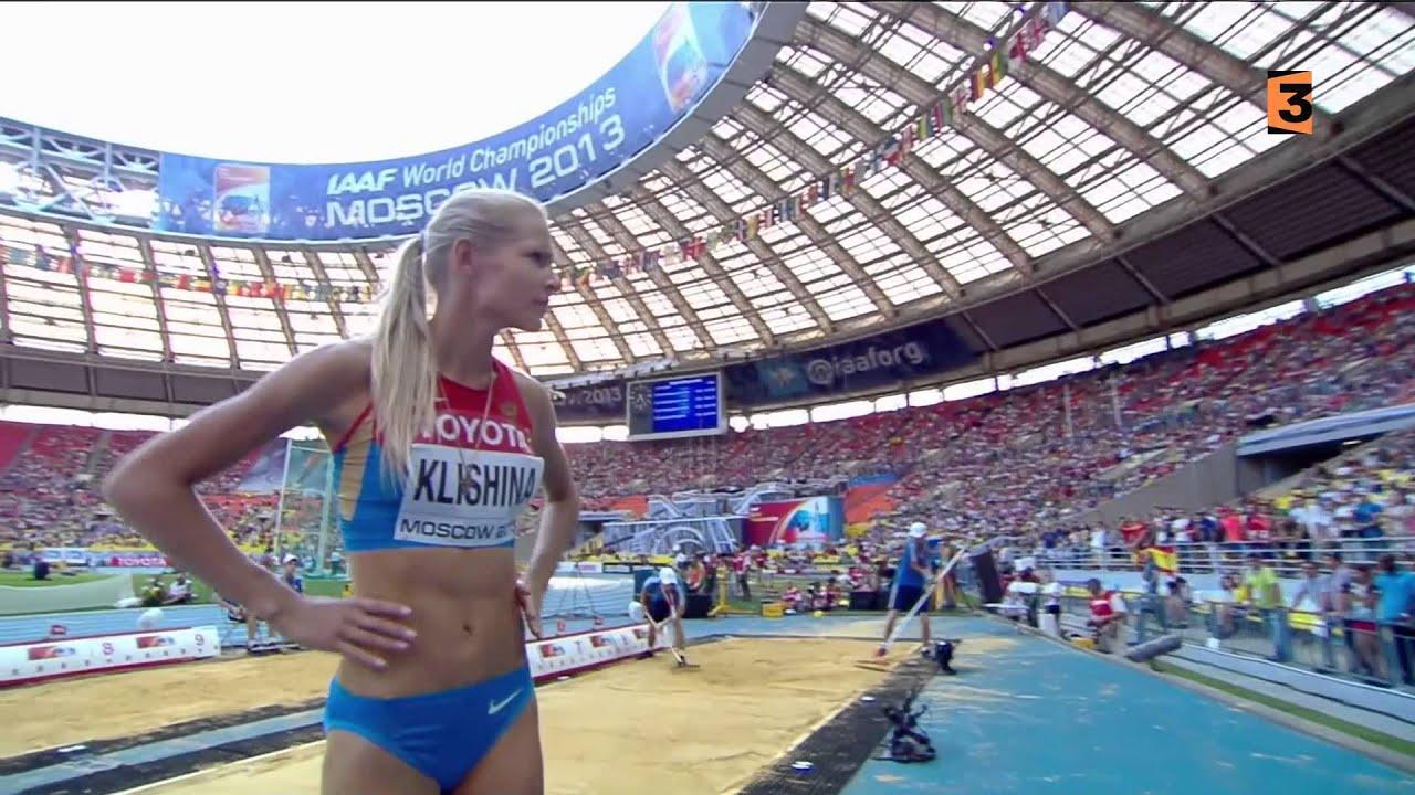Darya Klishina Дарья Клишина 2013 12v IAAF Moscow WC ... Darya Klishina Wallpaper