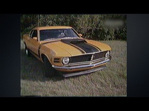 Ford Mustang documentary with Carroll Shelby, Mach 1, GT350, GT500