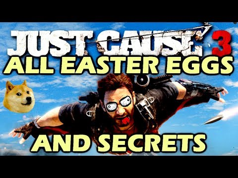 Just Cause 3 All Easter Eggs And Secrets HD