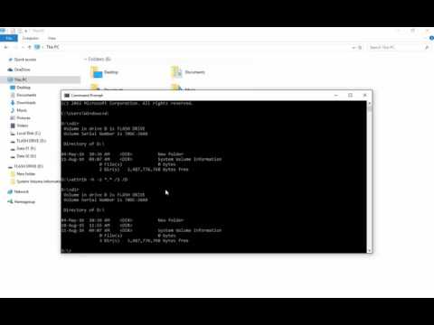 Learn To Recover Hidden Files & Folders Using