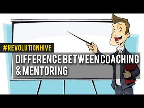 The Difference Between Coaching & Mentoring