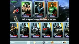 Injustice iOS - New Challenge - Elseworld Flash Review