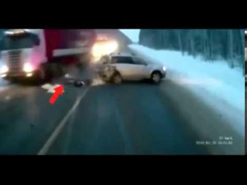 Accident de voiture (Russie)