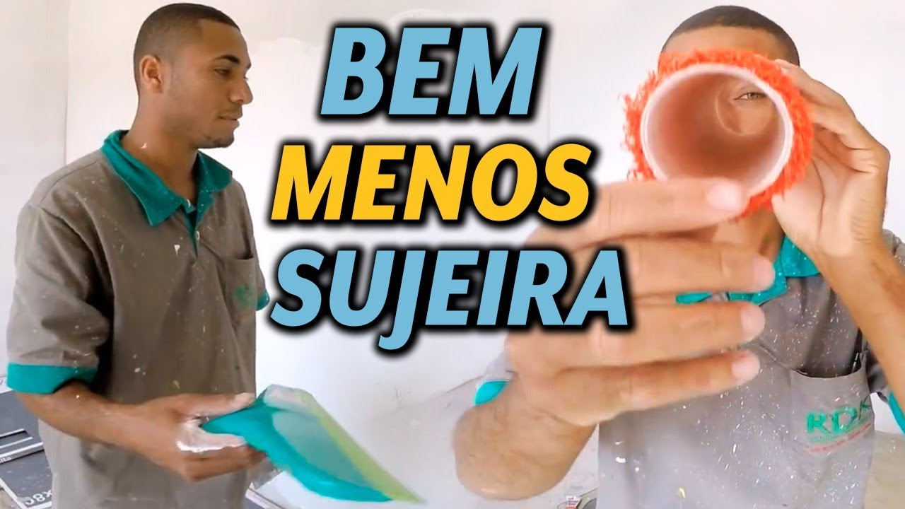 O MELHOR RODO PARA ALISA MASSA CORRIDA CONFIRAM!!!! #MASSA CORRIDA COM ROLO E RODO#