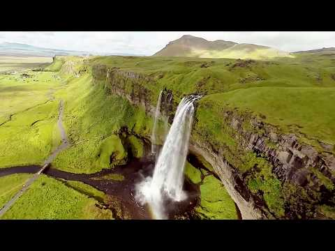 """BEAUTIFUL AERIAL VIEW of """"ICELAND"""""""