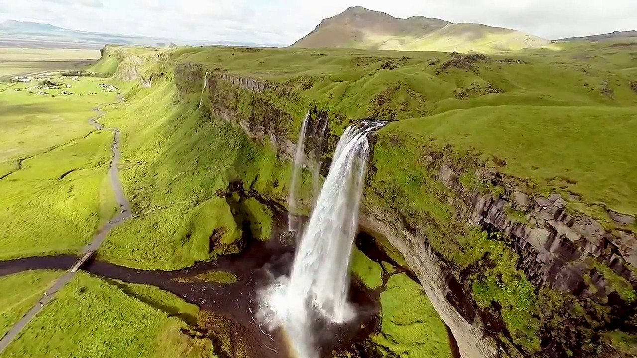 """BEAUTIFUL AERIAL VIEW of """"ICELAND"""" - YouTube"""