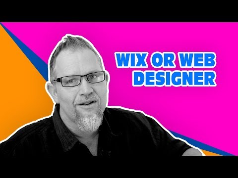 Wix or Web Designer, The Small Business Web Developer