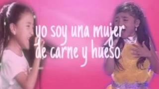 Valer�a Zapata Canta Yo Soy Una Mujer Letra