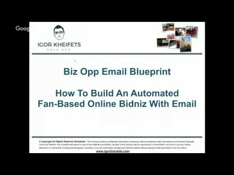 [FREE TRAINING] 10 proven email marketing formulas which pull 6 figures per month by Igor Kheifets