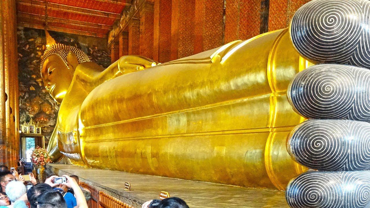 Bangkok big Buddha 46 meters in Temple What Pho 2015 4K Grand palace Thailand Travel GoPro4black. - YouTube & Bangkok big Buddha 46 meters in Temple What Pho 2015 4K Grand ... islam-shia.org