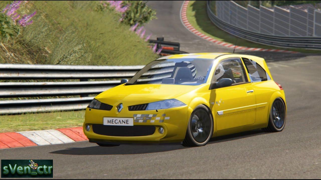 Renault megane r26 nurburgring webcam