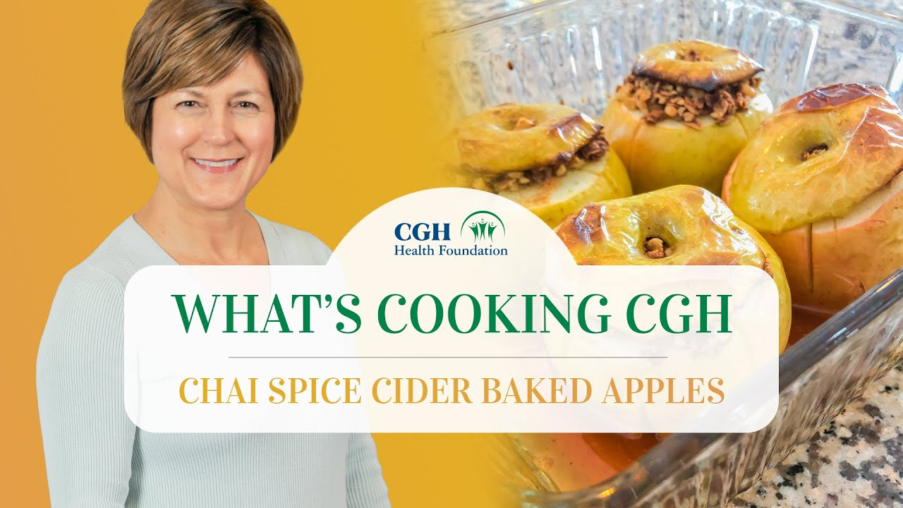 Chai Spice Cider Baked Apples