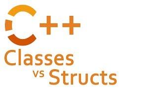 CLASSES vs STRUCTS in C++