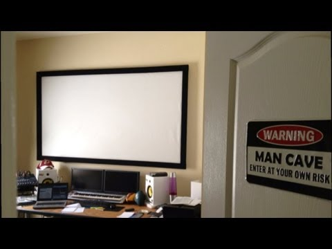 DIY Home Theater Projection Screen