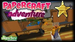 PaperCraft Adventure (Minecraft Bedrock Map EP1)