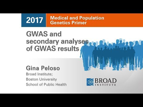 MPG Primer: GWAS and secondary analyses of GWAS results (2017)