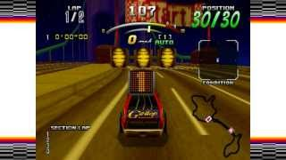 Daytona USA Deluxe: Sea-Side Street Galaxy (Original Car)