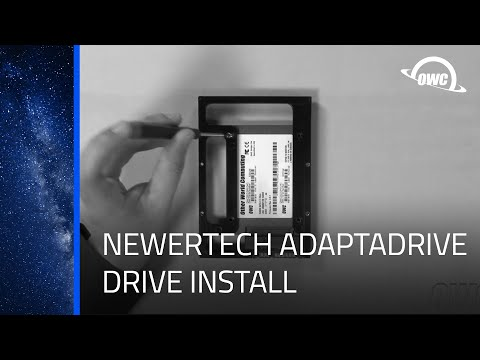 Newer Technology AdaptaDrive: Drive Installation